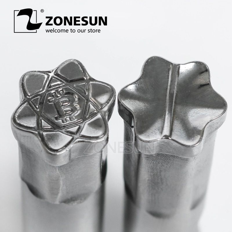 ZONESUN BC 3D Die Punching Mold Tablet Press Tool Candy Punch Mold For TDP 1.5 / TDP 5 Tablet Making Machine free shipping