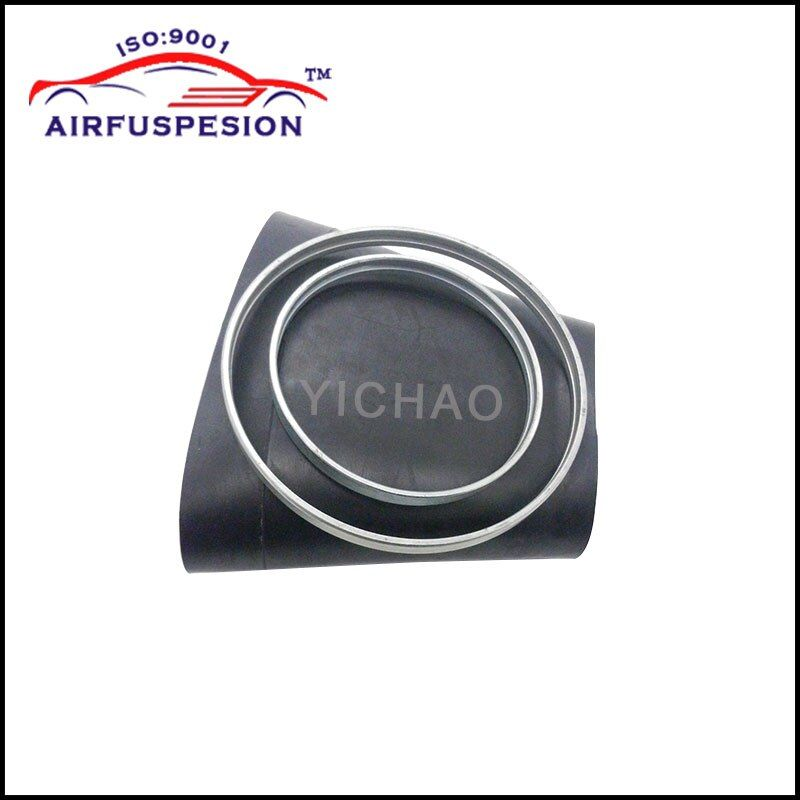 Free Shipping for Mercedes W221 Front Rubber Sleeve with rings Pillows Air Bellows Sleeves Air Suspension Repair Kit Bladder