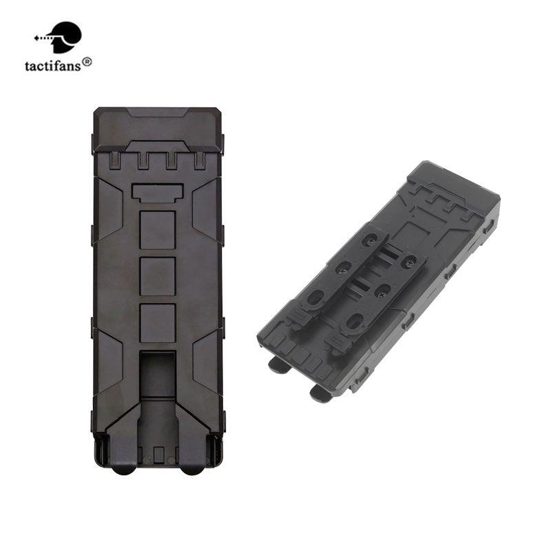 Tactifans Shotgun Ammo Tasche 10 Runden ABS Tactical Pouch Reload Halter Molle tasche für 12 Gauge Magazin Munition Patrone Halter