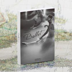 30 feuilles/Set Belle Ballet Fille Carte Postale/Carte De Voeux/Message Carte/De Noël et Nouvel An cadeaux cartes