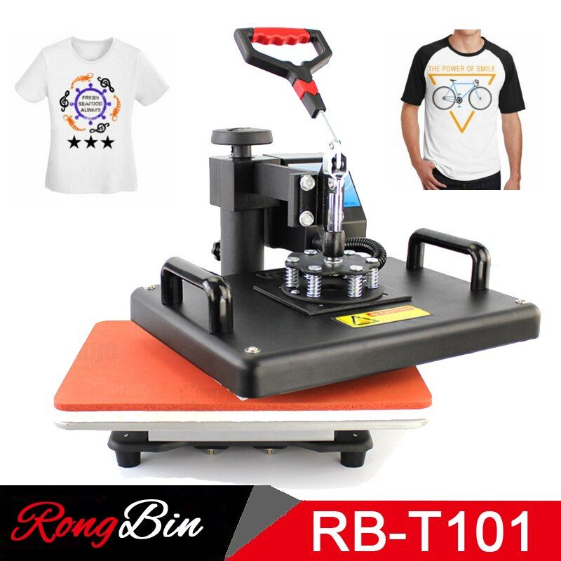 12x15 Zoll T-shirt Transferpresse Maschine Digitale Schaukel T-shirt Wärmeübertragung Machina T-shirt Druckmaschine Sublimation DIY