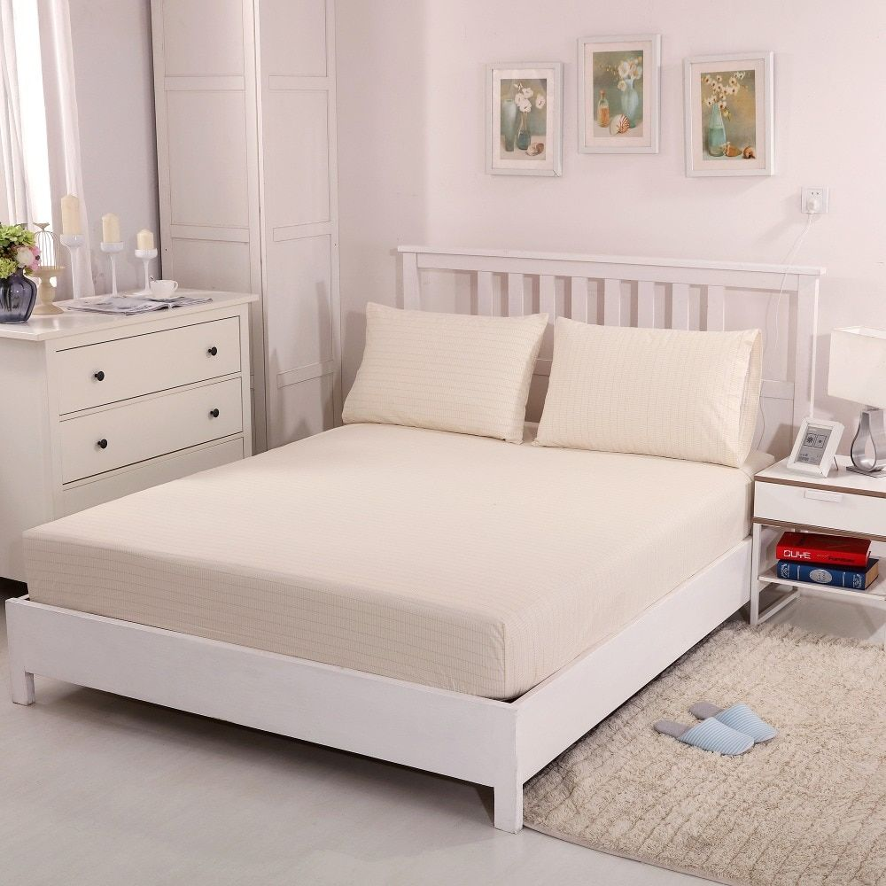 Anti-fatigue silver fitted sheet Queen size Earthing sheet (153*203cm) free EMS shipment