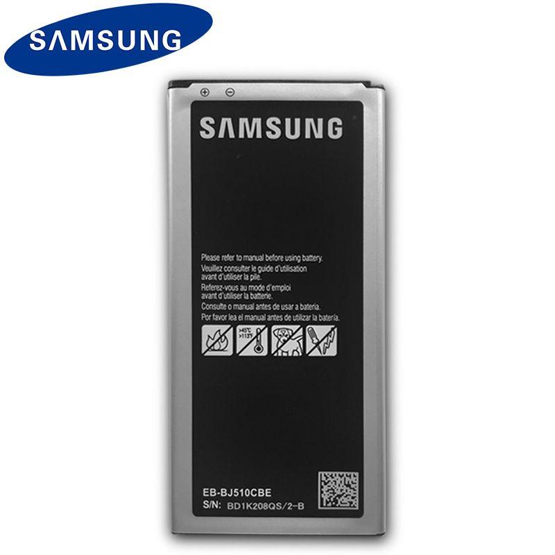 Original Samsung Spare Phone Battery EB-BJ510CBE 3100mAh For Galaxy J5 2016 Edition J510 J510FN J510F J510G J510Y J510M