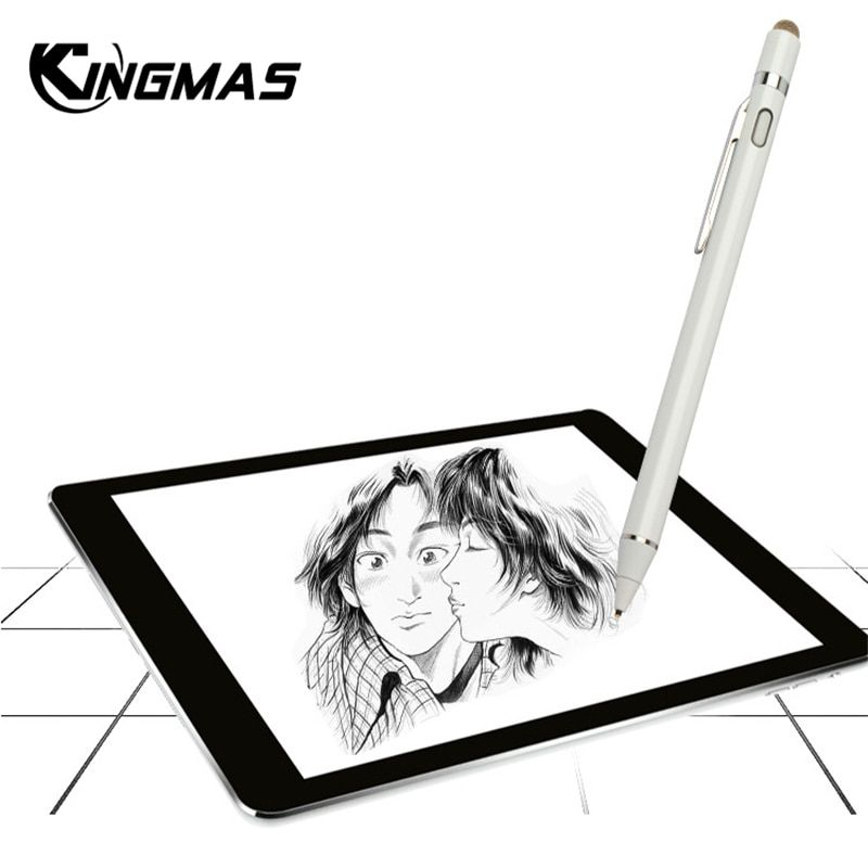 For apple Pencil,Kingmas new High precision stylus pen capacitance touch Pencil for ipad 2018 Pro mini with retail Packaging