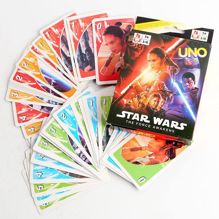 Star Wars : la Force éveille UNO jeu carte cartes de Collection