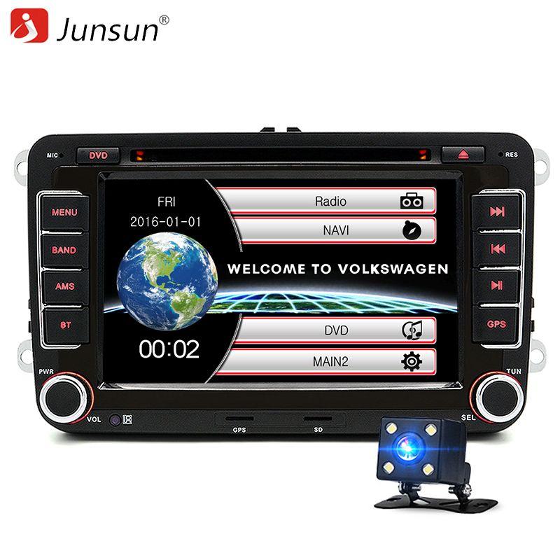 7 inch 2 Din Car DVD GPS Radio Player for Volkswagen VW polo golf touran passat sharan jetta 6 polo tiguan <font><b>2din</b></font> car navigation