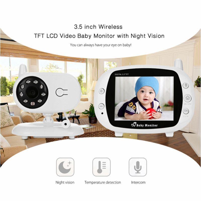 3.5 Inch Wireless TFT LCD Video Baby Sleep Monitor With Night Vision TFT Baby Monitor Baby Camera Digital Video Nanny Babysitter