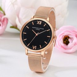 LVPAI Watches Women Stainless Steel Bracelet Analog Quartz Watch 2019 Luxury Brand Casual Wristwatches Montre femme 18FEB24