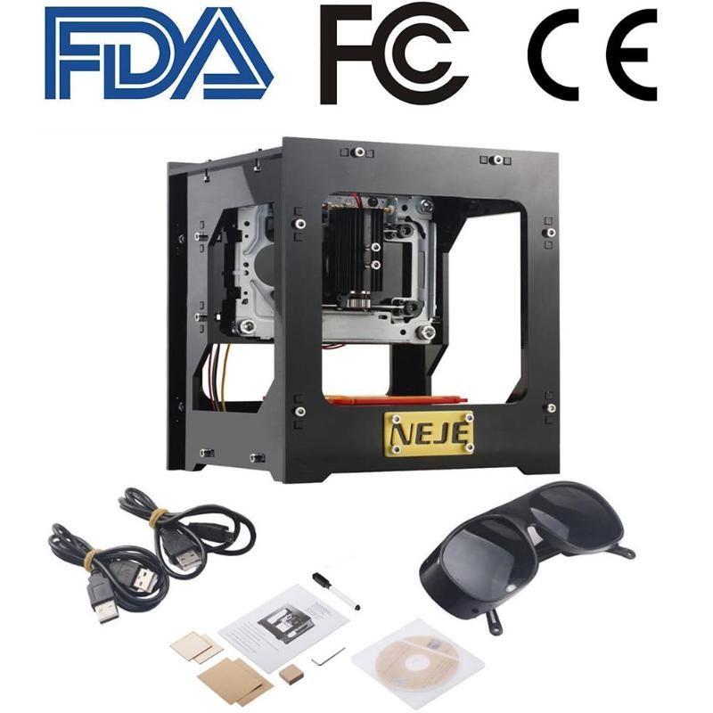 2018 Upgrade NEJE 3D 1000mW CNC Crouter USB CNC laser cutter mini CNC Engraving Machine DIY Print Laser Engraver Printer