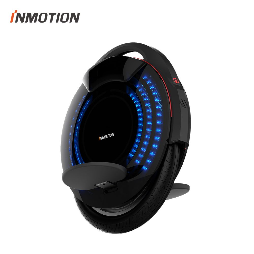 Original INMOTION SCV V8 Monowheel One wheel Electric Self balancing Scooter EUC Off-road APP With Decorative Lamps Unicycle