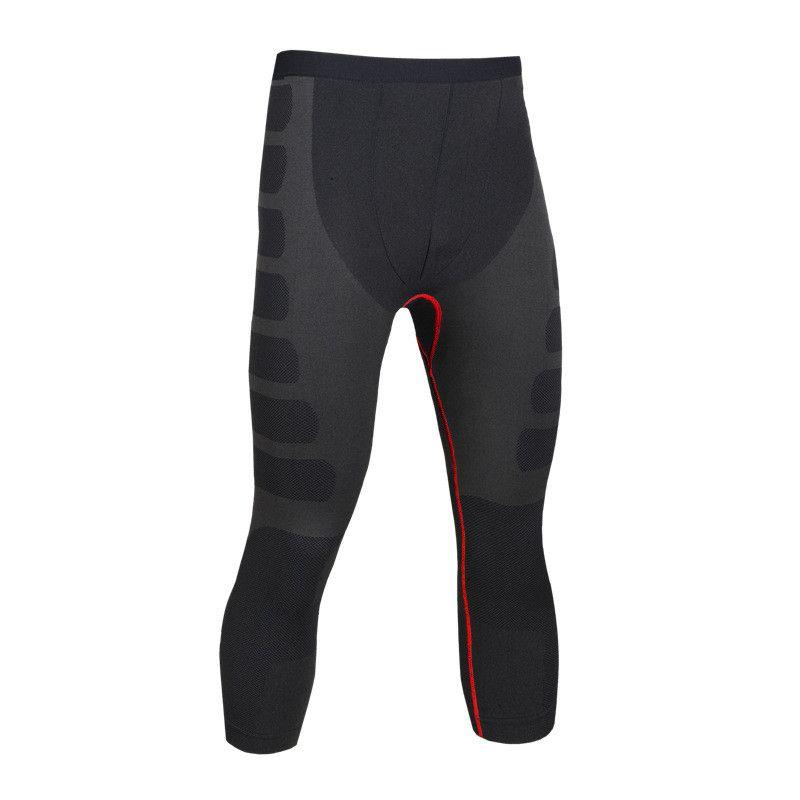 Pantalons de Compression pour hommes survêtement de musculation exercice de Fitness Leggings Slim collants de Compression pantalons vêtements de marque à séchage rapide