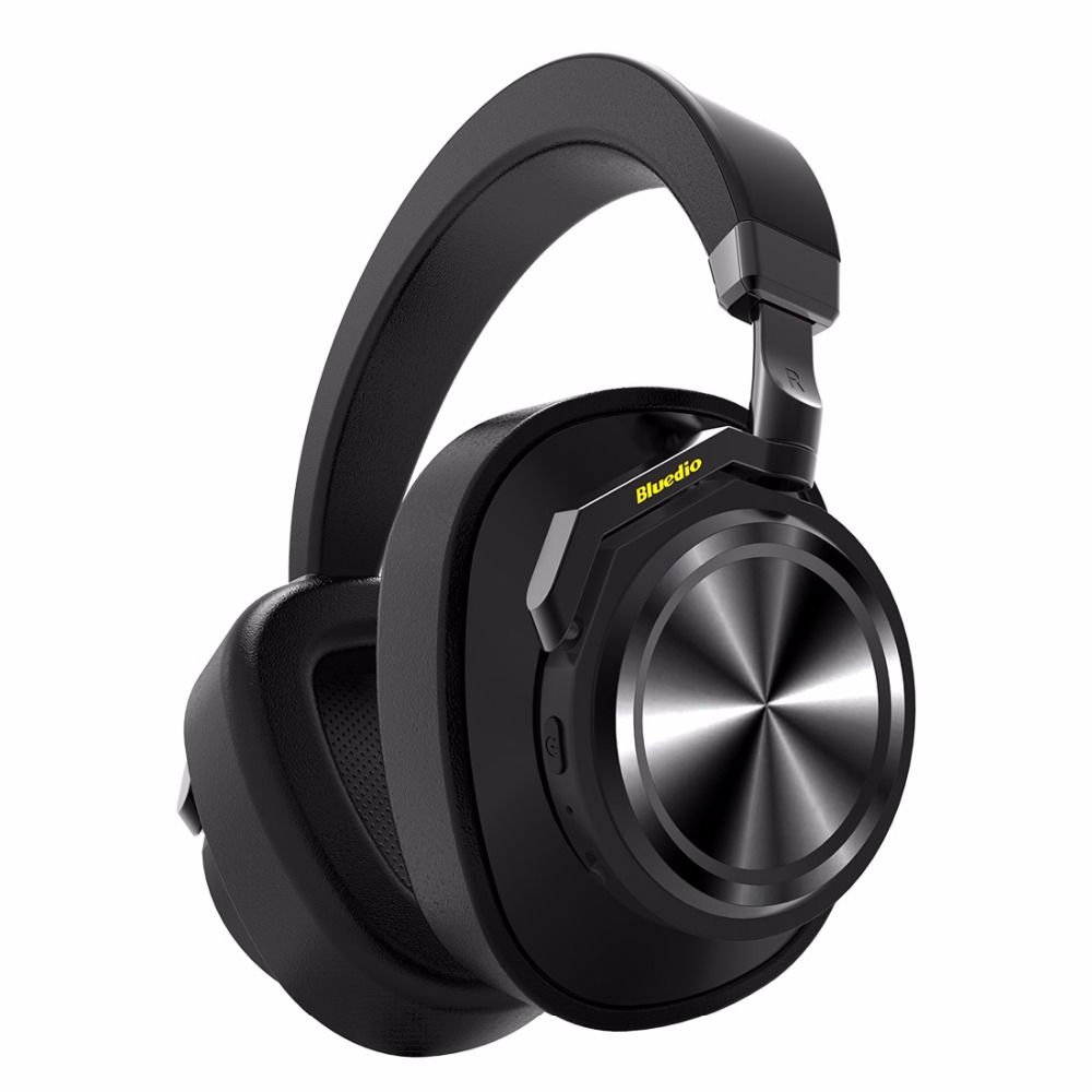 Bluedio T6 Active <font><b>Noise</b></font> Cancelling Headphones Wireless Bluetooth Headset with microphone for phones and music