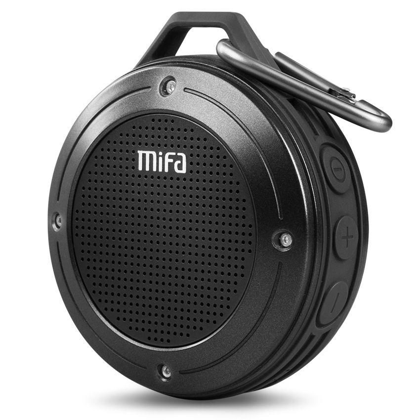 MIFA F10 En Plein Air Sans Fil Bluetooth 4.0 Stéréo Portable Haut-Parleur micro Intégré Résistance Aux Chocs IPX6 Étanche Haut-Parleur avec des Basses