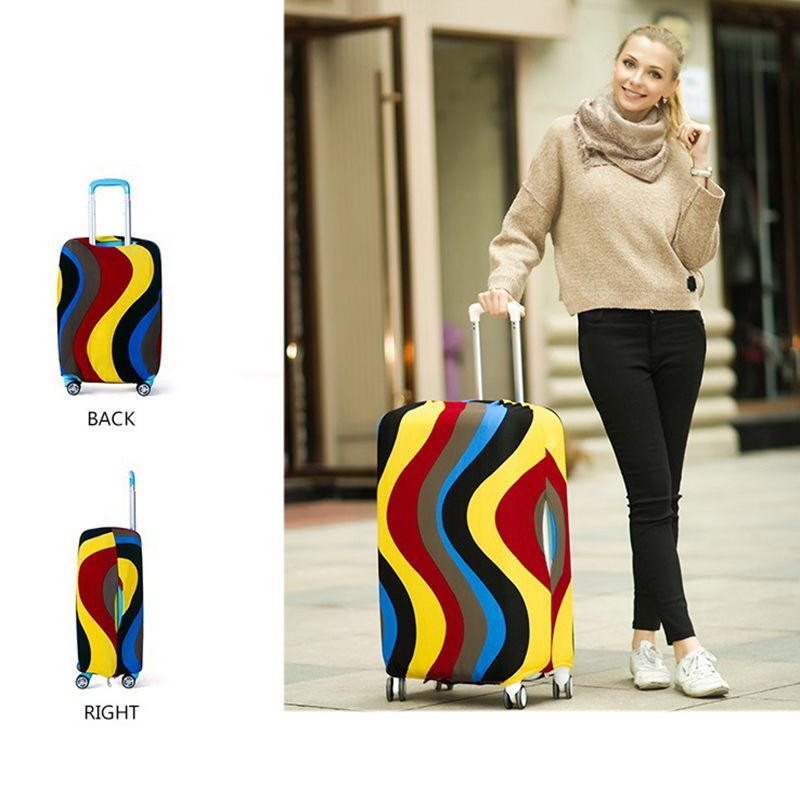 Luggage Elastic Cover Protective Suitcase Dust cover for 18 to 30 inch (Cover Only)