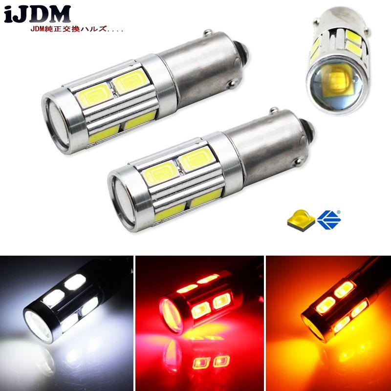 2pcs High Power 11W HID White BAX9S H6W CRE'E-SMD LED Replacement Bulbs For Car Parking Light,Backup Reversing Brake Lights Bulb