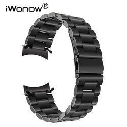 Mode terbaru Stainless Steel Gelang Jam untuk Samsung Aksesoris S3 Klasik/Frontier R770 R760 Menonton Band Tali Logam Wrist Gelang