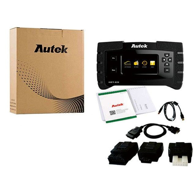 New Released Original Autek IKey820 Auto Sanner Key Programmer Universal Car Key Programmer