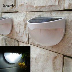 Coquimbo 6 LED Solar Panel Lamp Sensor Light Built In Rechargeable Ni-MH Battery Waterproof Solar Light Garden Outdoor Light