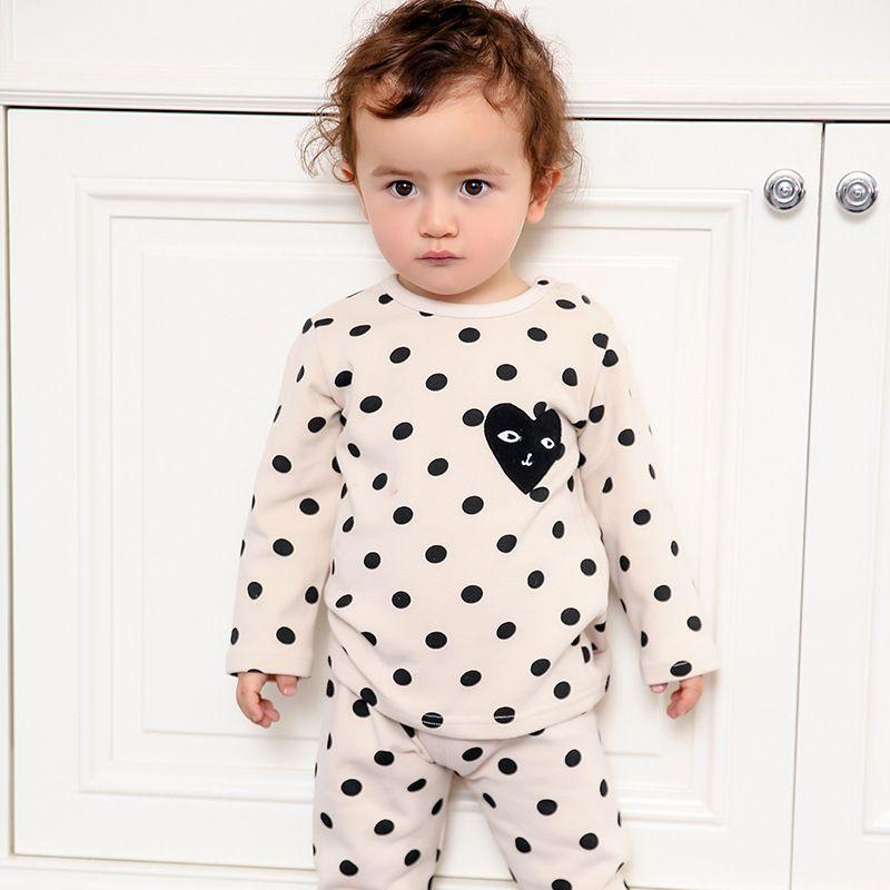Top qualité nouveau design Bande Dessinée adorable Garçons Filles Vêtements de coton Bébé Ensembles WAB1-WAB5