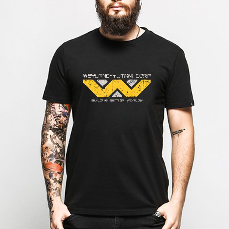Aliens Weyland Yutani Corp t-shirt Männer Frauen t-shirt euro größe S ~ XXXL