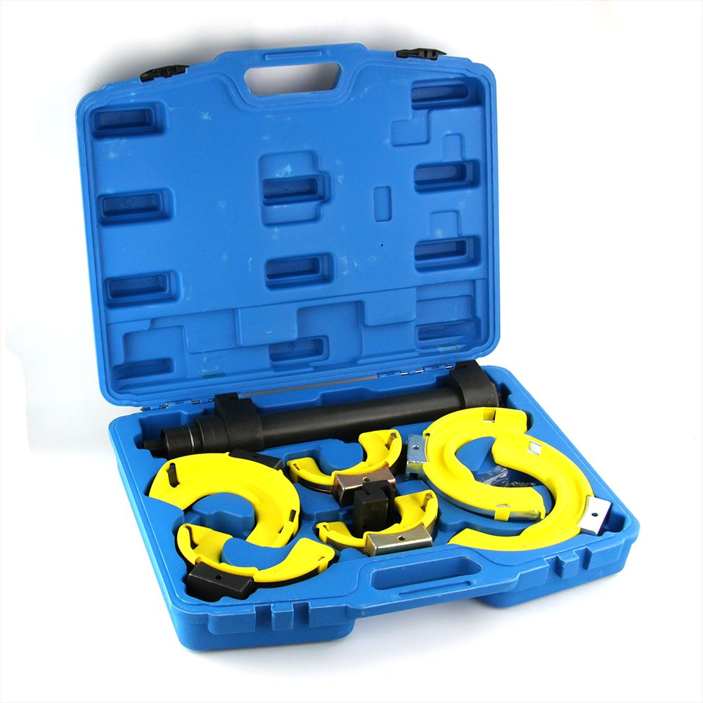 New style strut coil spring compressor dumper extractor tool