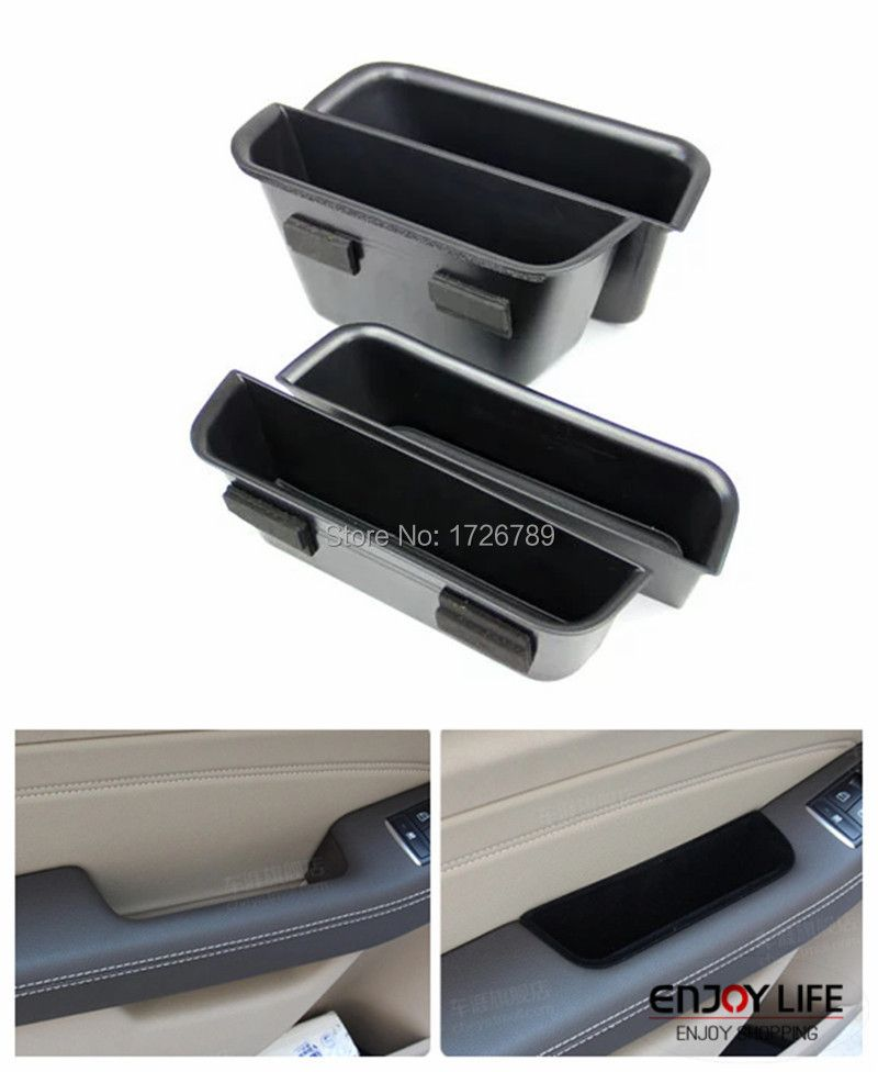 Car Armrest Box Door Handle Storage Glove Box Phone Container For Mercedes Benz ML W166 ML350 ML500 ML550 ML63 & GLE W166 C292