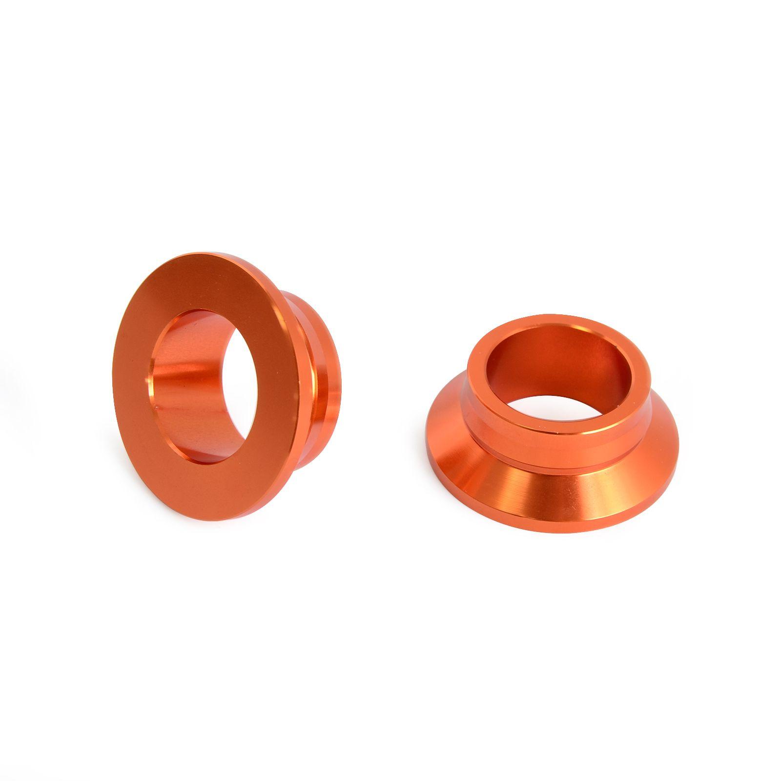 CNC Billet Aluminum Rear Wheel Spacers/ Hub Collars for KTM 125 150 250 300 450 SX XC XCF SXF XC-F SX-F NEW
