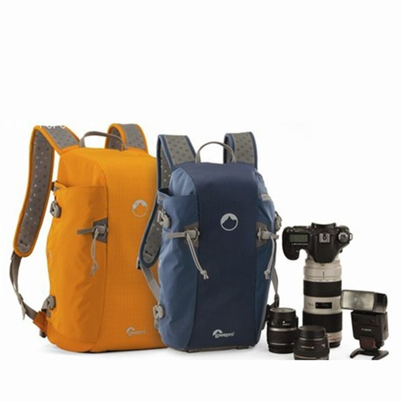 Wholesale Lowepro Genuine (Blue) Flipside Sport 15L AW DSLR Photo Camera Bag Daypack Backpack With All Weather Cover