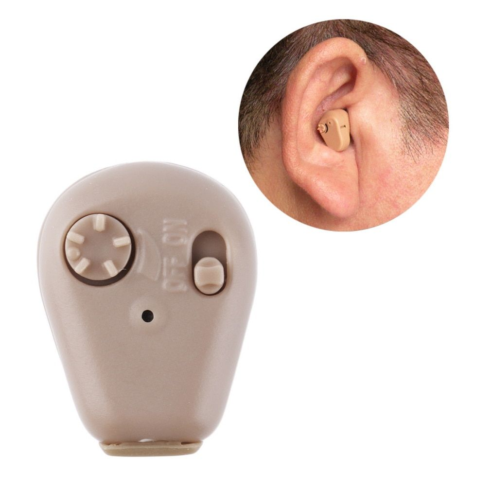 K-88 In Ear Mini Digital Hearing Aids Assistance Adjustable Sound Amplifier Rechargeable Hearing Aid For Deaf People Ear Care