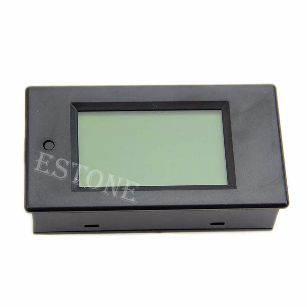 LCD Wattmètre Numérique Volts Watts Puissance Ampèremètre Voltmètre AC 80-260 v 20A Trajectoire Nouveau 2017