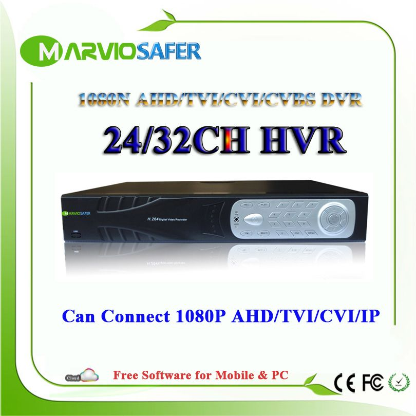 24ch 32ch 24 / 32 channel AHD CVI TVI DVR XVR 1080N Full HD Video Recorder 1080P HDMI Output CCTV AHD Camera Camara recorder