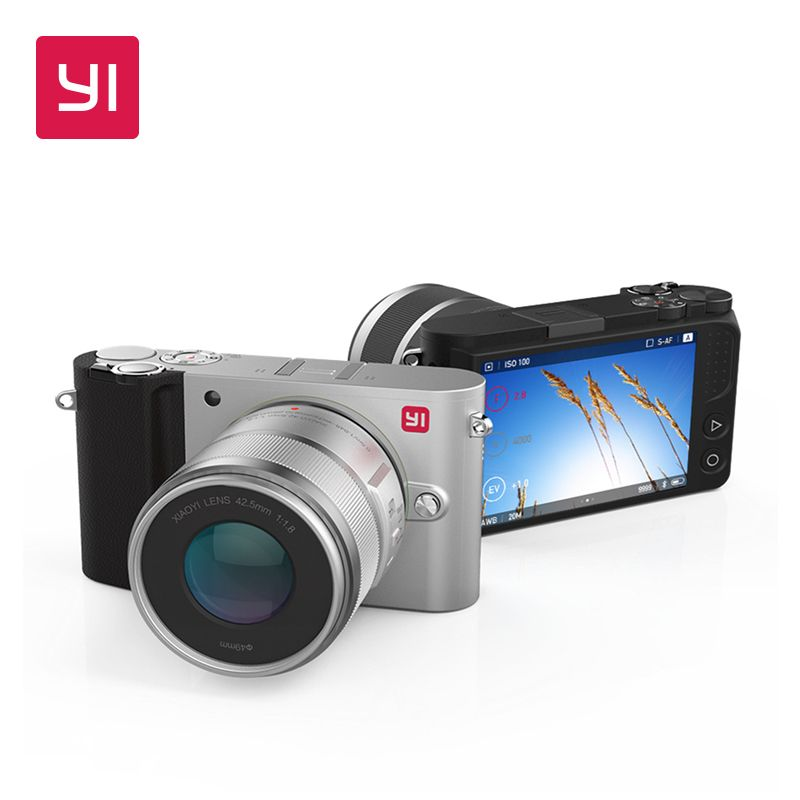YI M1 Mirrorless Digitalkamera International Version Mit YI 12-40mm F3.5-5.6 Zoom Objektiv LCD RAW 20MP Video Recorder 720RGB H264