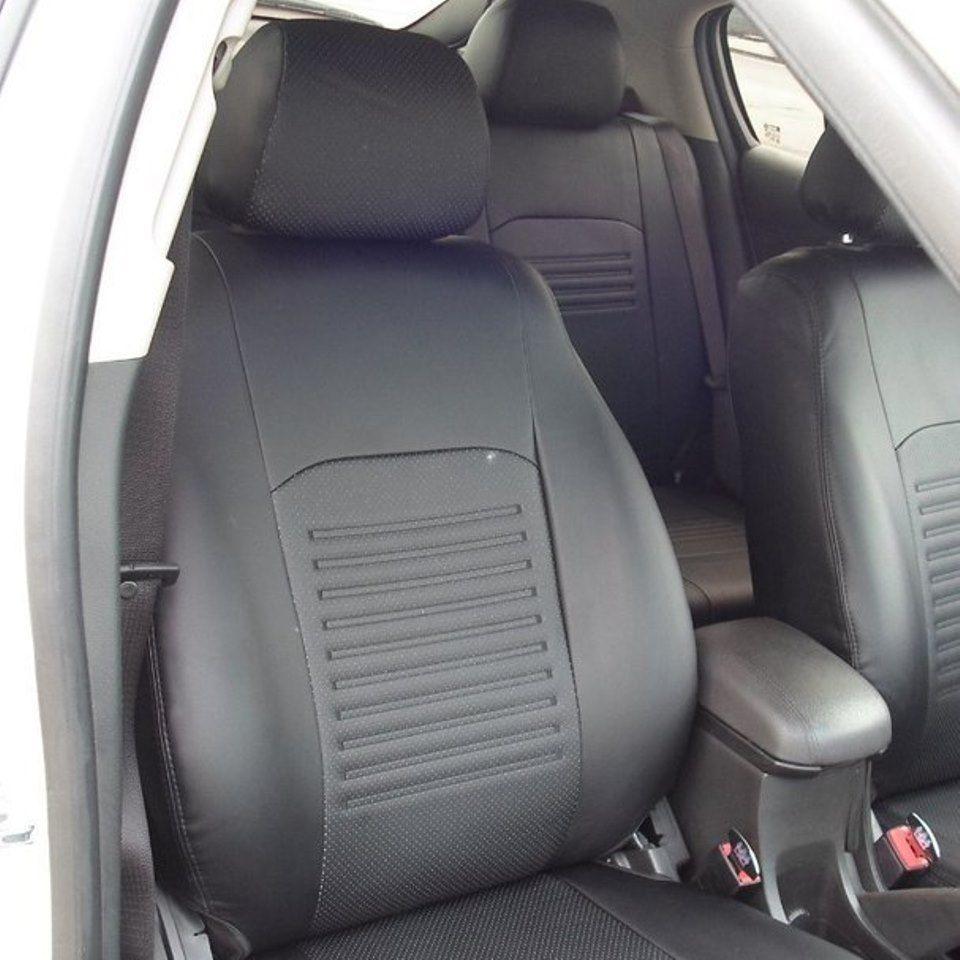 Für Mazda 3 BK 2003-2008 spezielle sitzbezüge vollen satz Modell Turin Eco-leder