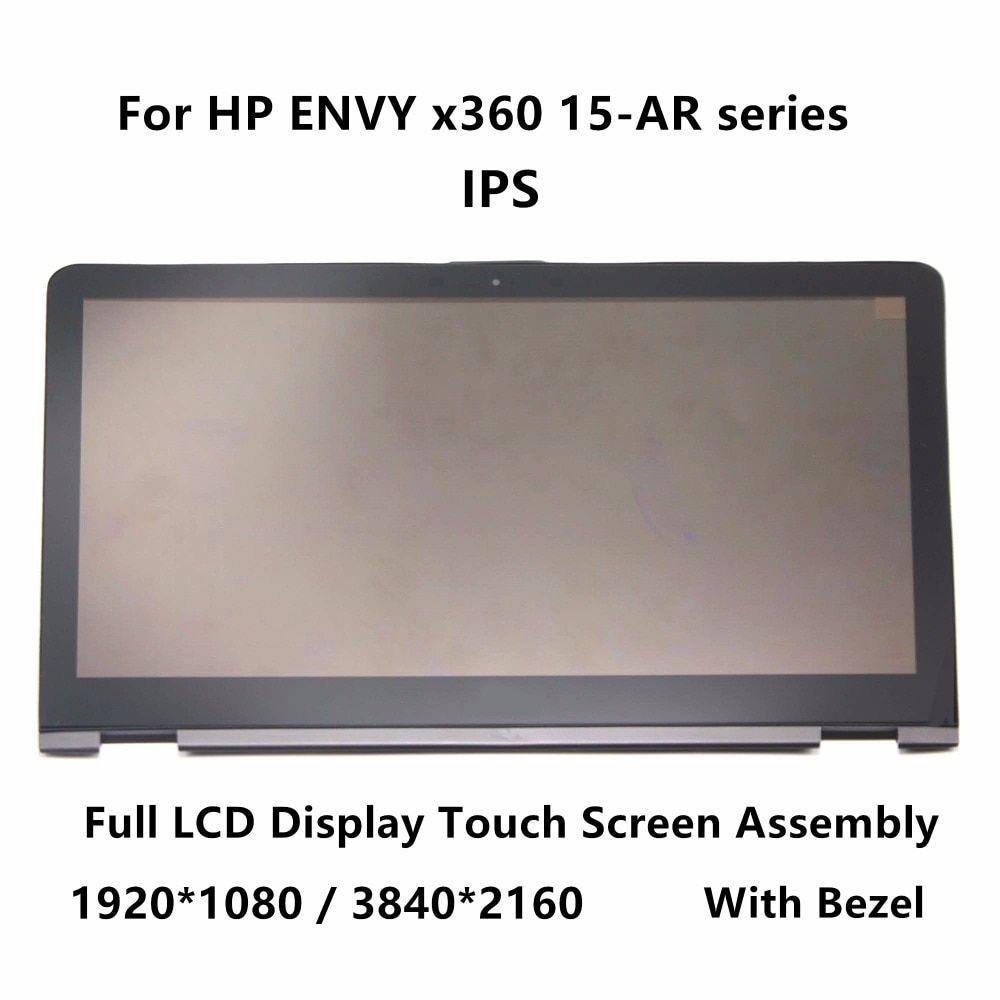 15,6 IPS Voll LCD Display Touch Glas Digitizer Montage Lünette Für HP ENVY x360 15-ar000nd 15-ar001nb 15-ar000ur LP156WF6 SPL1