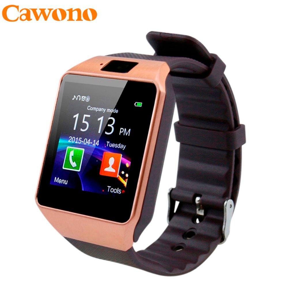 Cawono dz09 Bluetooth Smart Часы SmartWatch relogios смотреть TF sim-карты Камера для iphone Samsung Huawei телефона Android PK Y1 q18