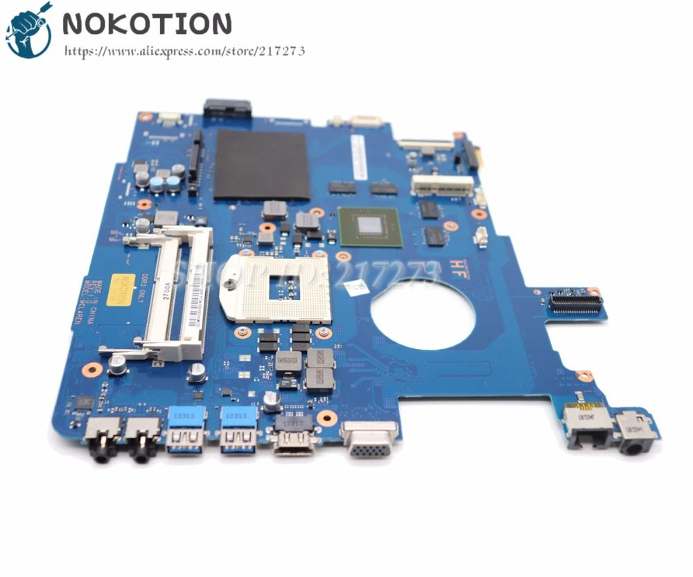 NOKOTION Brand New For Samsung NP550 NP550P5C Laptop Motherboard GT650M GPU BA92-09094A BA92-09094B BA41-01898A BA41-01900A