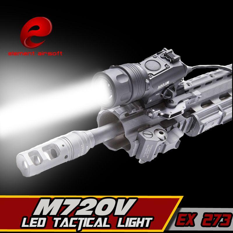 Element Surefir M720V Taktische Licht LED Taschenlampe Jagd Softair Waffe Ir Lampe Gewehr Pistole Laterne Für Jagd Arma Airsoft