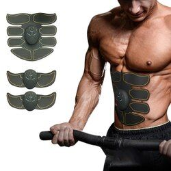 Listrik Otot Latihan Mesin Perut Lengan Otot Pelatih Ems Slimming Berolahraga Tubuh Bangunan Kebugaran Otot Stimulator