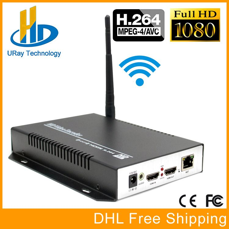 URay MPEG4 AVC / H.264 IPTV WIFI Encoder Hardware HDMI To RTSP HTTP RTMP IP Streaming Wireless For Live, Streaming Media Server