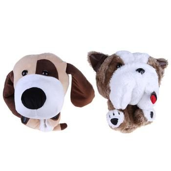 2 Styles Cute Animal Golf Club Protective Head Cover for 460CC No.1 Driver Wood Outdoor Sports Golf Accessories