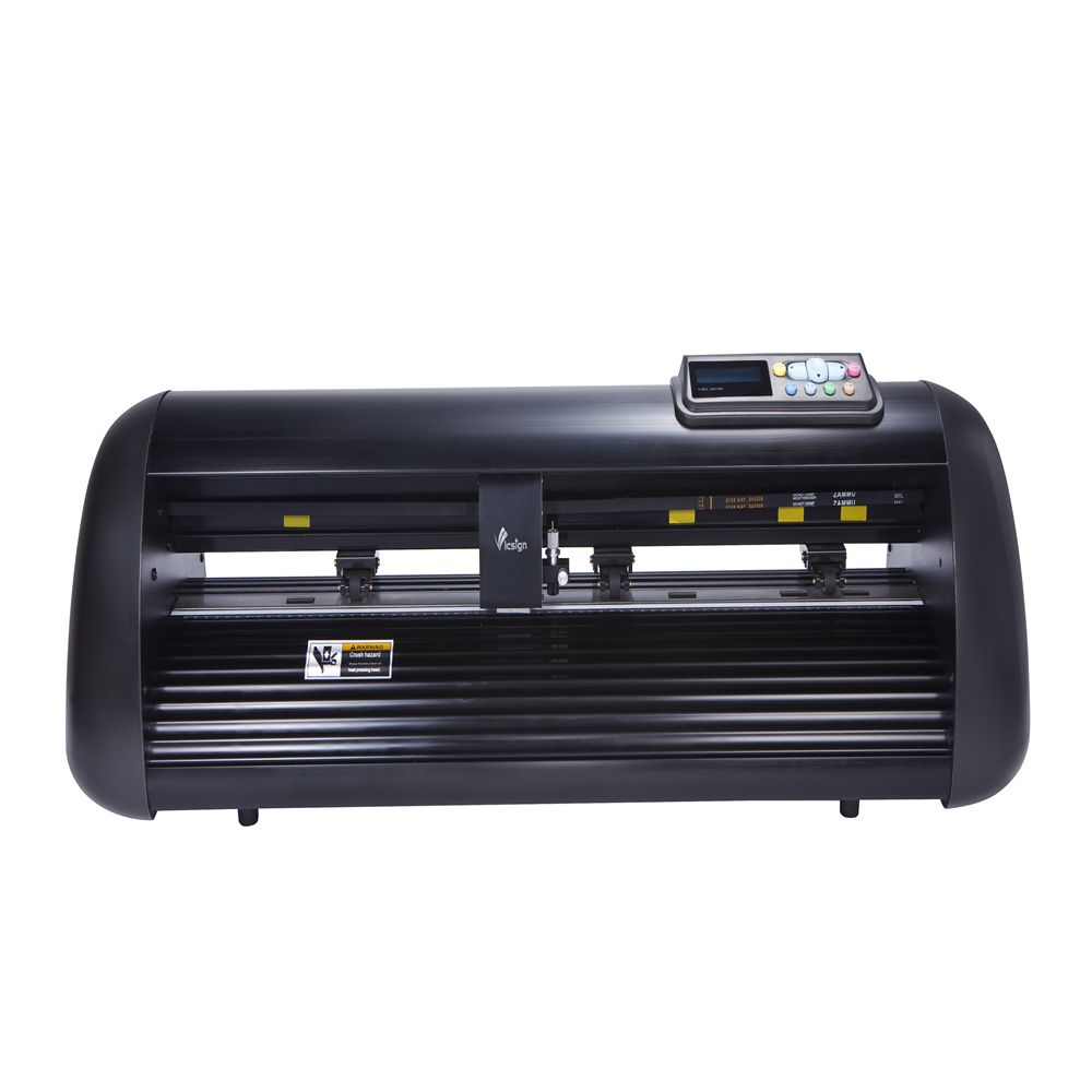 Vicsign 12 HW330 Mini Kleine büro Semi-auto Optische Auge Sensor Schritt Motor Kontur Auto Abziehbilder Schneiden Plotter
