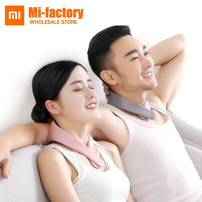 New Xiaomi PMA graphene fever protection neck belt relieves muscle tension and soreness and improves fatigue mini fever massager