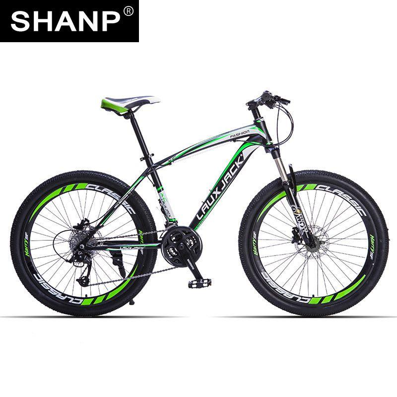 LAUXJACK Mountain Bike Steel Frame 24 Speed Shimano 26