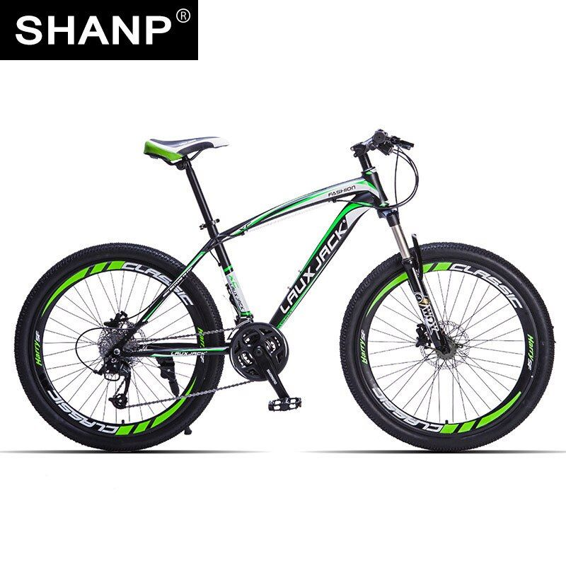 LAUXJACK Mountain Bike Steel Frame 24 Speed Shimano 26