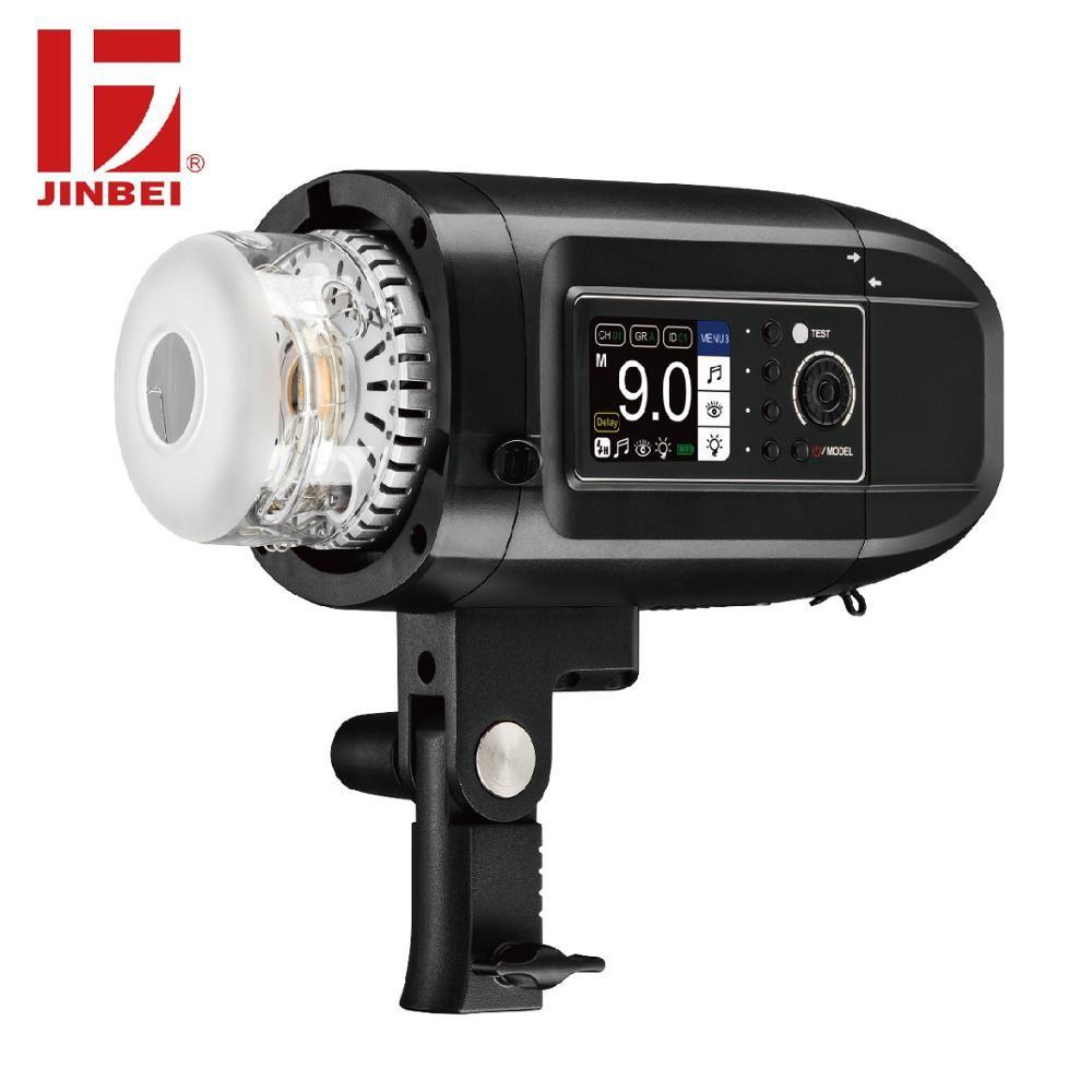 JINBEI HD-400Pro 400 W Outdoor Porträt Flash mit Magnetische Reflektor Kit HSS TTL Batterie Powered Strobe Monolight Bowens Berg