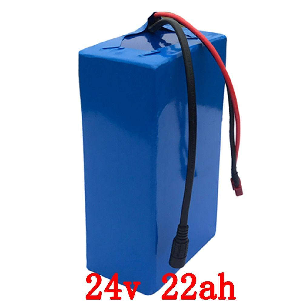Free customs duty 500W 24 V Battery 24V Electric Bike Battery pack 24V 22AH lithium battery with 30A BMS 29.4V 3A charger