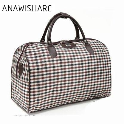 ANAWISHARE 2017 Women Travel Bags Large Capacity Men Luggage Travel Duffle Bags Travel Handbag For Male For Trip Waterproof B016