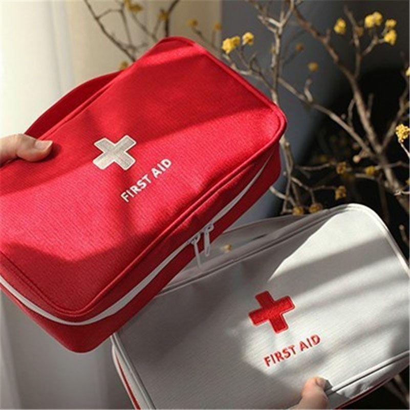 230x130x75mm Outdoor First Aid Emergency Medical Kit Survival bag Wrap Gear Hunt Travel Storage Bag medicine kit N3020