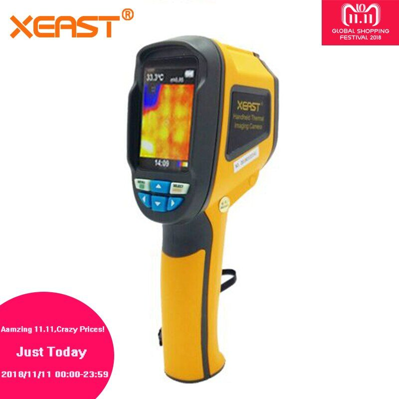 Send From Moscow Warehouse HT-02 Handheld Thermal Imaging Camera Infrared Thermometer Thermal Imager