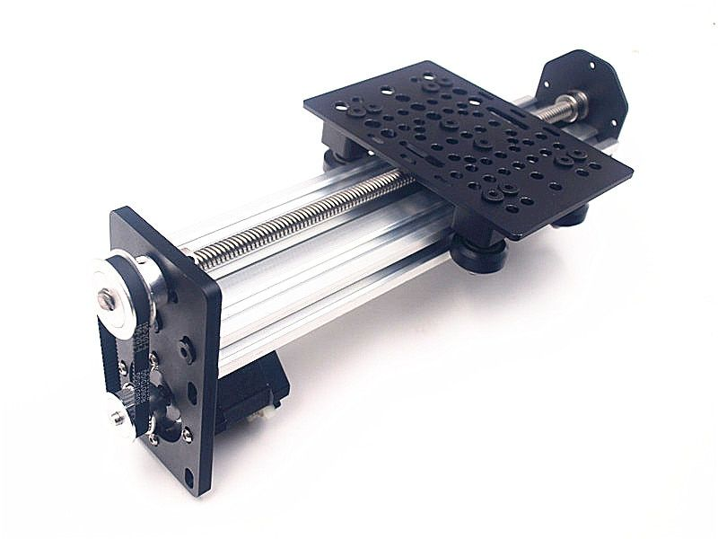 Funssor DIY NEMA17/23 Z axis kit 2060 v-slot Linear Actuator Bundle kit set with Reduction Plate raito 3:4